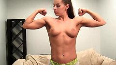 Sexy Sport Model Skylar Has To Do Everything