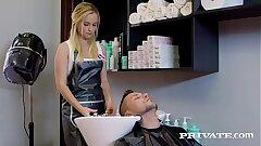 Private.com Vinna Reed, a hairdresser but a good..