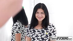 Teen model gets fucked by her photographer