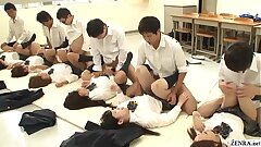 JAV synchronized schoolgirl missionary romp led by teacher