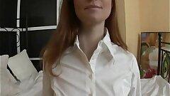 Redhead Gaping Buttfuck for Russian Teen