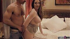 Cheating husband fucks MILF wife and his nubile mistress