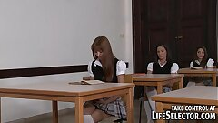Hot teenagers and seduced teachers in Sorority Secrets 3