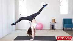 FIT18 - Aliya Brynn - 50kg - Casting Flexible and Horny Diminutive Dancer