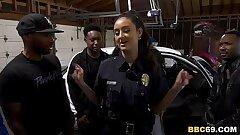 Police Officer Eliza Ibarra Deepthroats Every Bbc