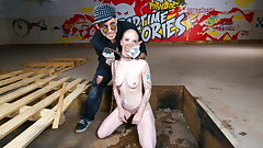 FORBONDAGE Splendid Teen Got Tortured And Fucked By Fuckfest Machine