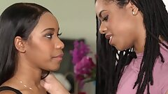 BlackValleyGirls- Hot Ebony Bffs Scissor & Bang