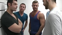 Gaysex orgy cubs blow during mugshot
