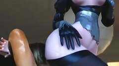 2b dominating hard in her bedroom (part 1 short 1)