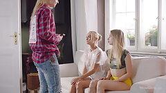 WOWGIRLS Nancy A, Jade and Anna Di in Domination Threesome